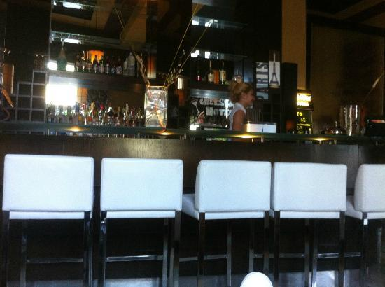 The lobby bar of the Hotel Chelsea