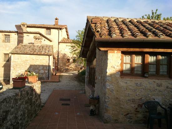 L\'agriturismo 1 - Picture of Soggiorno Taverna Celsa, Sovicille ...