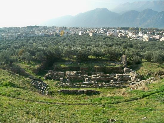 Acropolis and Ancient Theater : The view from the top