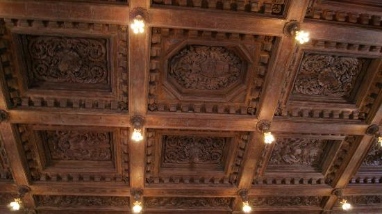Hearst Castle: Handcarved Wooden Ceilings