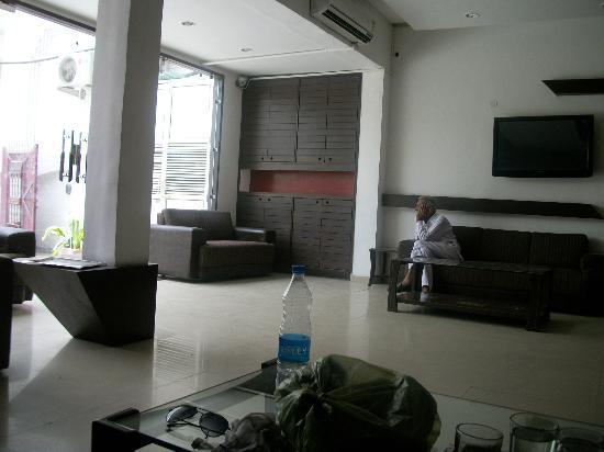 Mayur Hotel: reception