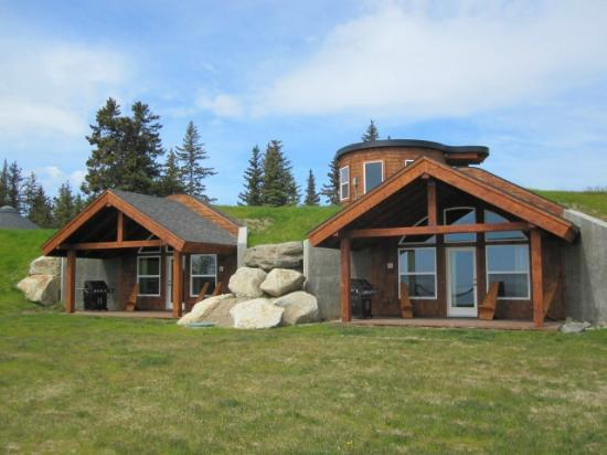 Kenai Peninsula Suites: View of Bear/Wolf Den from outside