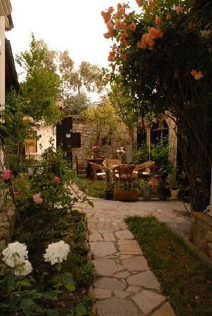 Urkmez Hotel: Garden