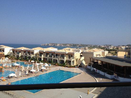 Mythos Beach Resort: Udsigt fra altanen