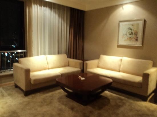 Baihuan Hotel: Sitting area