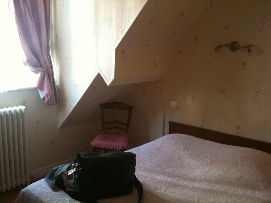Coutances, ฝรั่งเศส: Double room