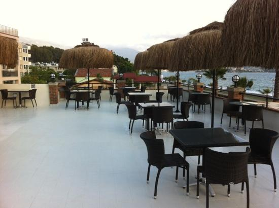 Hotel Letoon: the new roof top terrace