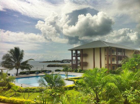 Heritage Park Hotel Honiara: View from room