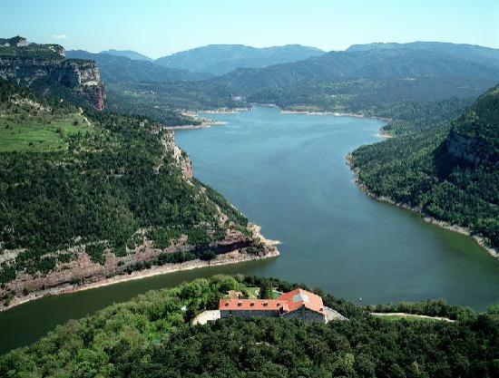 Vic, España: Vista aerea del Parador
