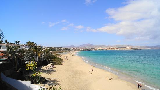 Sotavento Beach Club Sandstrand Ca 200 Meter Vom Hotel Entfernt