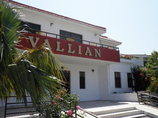 Vallian Village Hotel : Entrée de l'hôtel Vallian Village