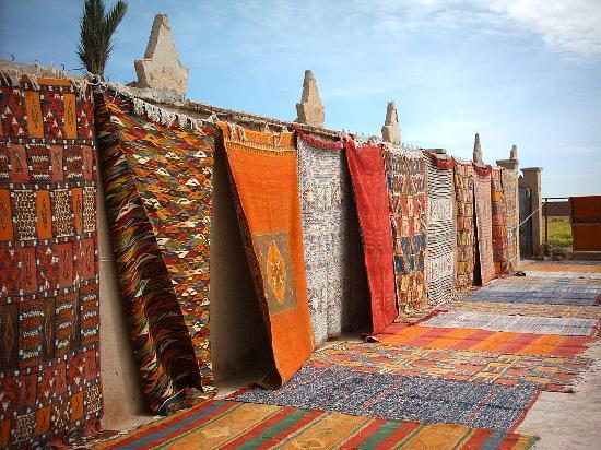 Moroccan carpets types
