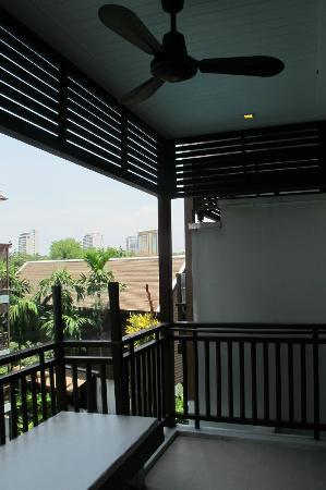 RarinJinda Wellness Spa Resort: balcony at room