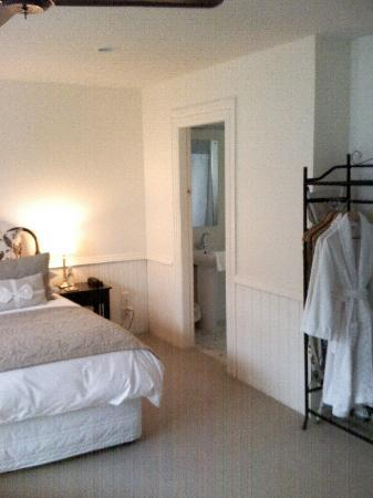 "Aylstone Boutique Retreat: Bedroom looking towards bathroom and ""wardrobe"""