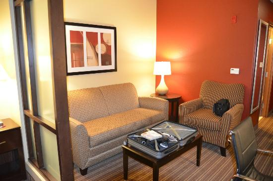 Comfort Suites West of the Ashley: King Suite