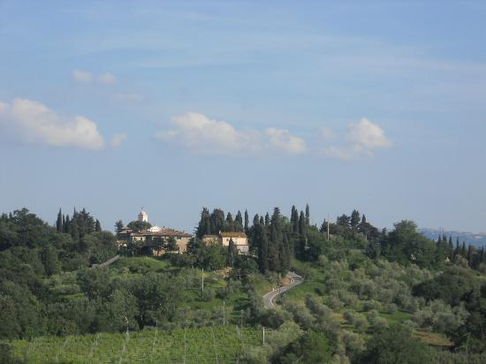 Agriturismo L'Antica Fornace: one of the views from our balcony