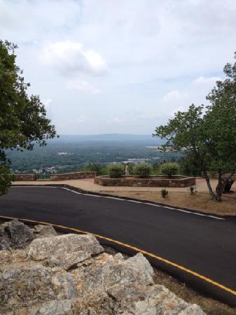 Hot Springs Mountain: From the top