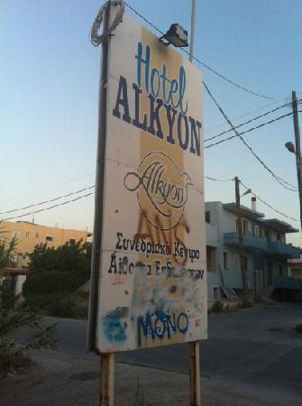 Alkyon Resort Hotel & Spa : direction sign. all clear
