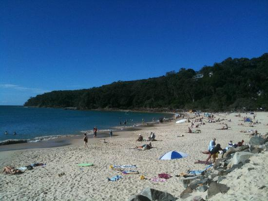 Noosa Main Beach looking East