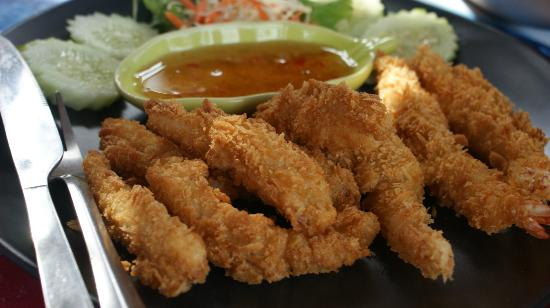 Krua Kritsana: Seafood Tempura best choice for snacks! 