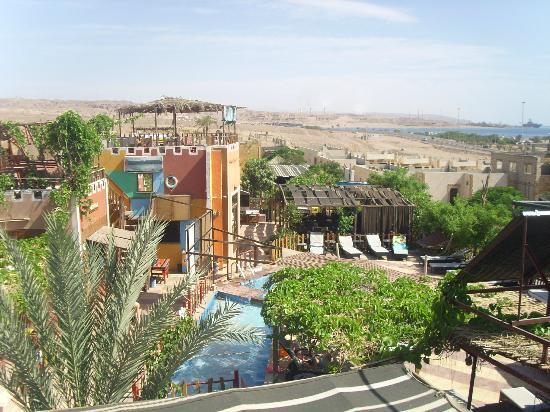 Bedouin Garden Village: vista panoramia sull'hotel