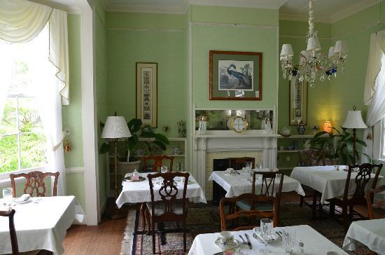 The Cuthbert House Inn: B&B Cuthbert House - Frühstücksraum