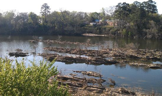 Wetumpka, AL: View of Coosa River from rear deck of Coaches Corner