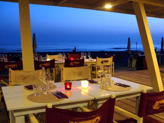 Fregene, Ιταλία: cena e mare