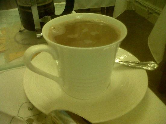Gorphwysfa Bed & Breakfast : the quality of coffee cup used, thought i was at bettys