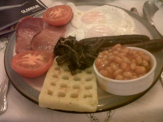 Gorphwysfa Bed & Breakfast: full english breakfast - double of everything at no extra charge