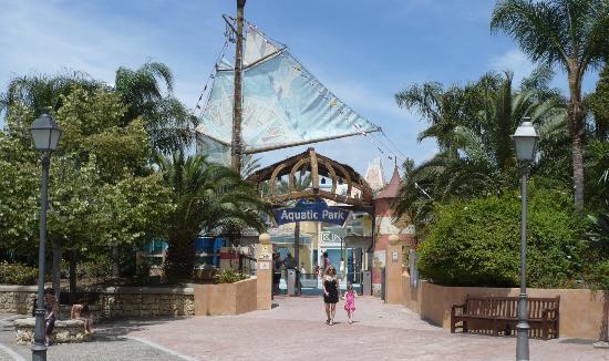 PortAventura Caribe Aquatic Park: Entrée du parc