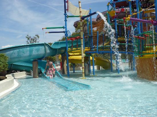 PortAventura Caribe Aquatic Park: jeux extérieur enfant