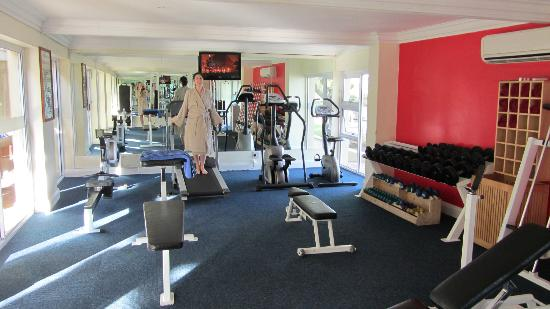 Caledon Hotel, Spa, Casino: free gym