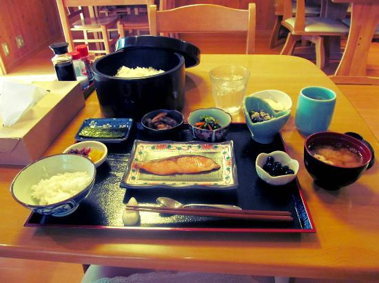 Ryokan Shimizu: Interesting breakfast