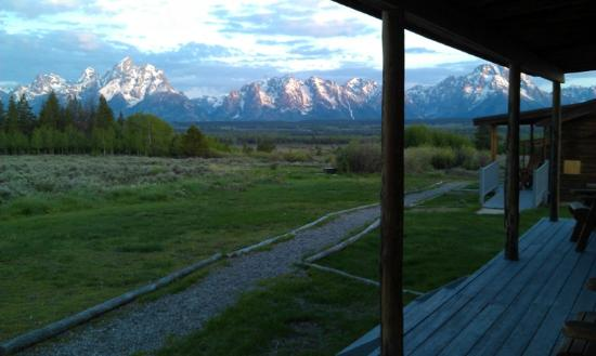 Triangle X Ranch : View from our front porch!