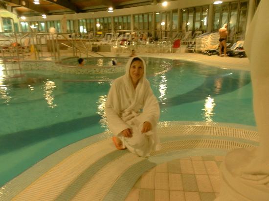 Petrarca Hotel Terme: Внутренний бассейн