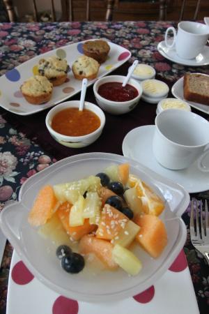 Gite La Cinquieme Saison : Breakfast Fruit Salad