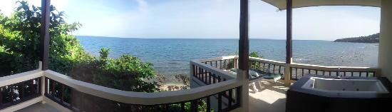 High Life Bungalow Resort: Panaromabild von der Terrasse aus (Bungalow A1)