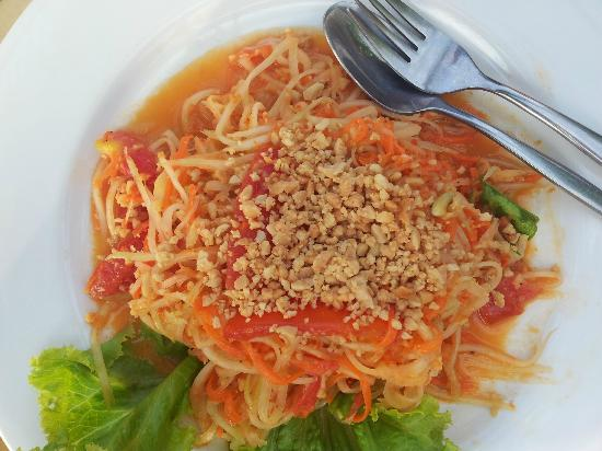 High Life Bungalow Resort: Som Tam - Papaya Salat (göttlich)