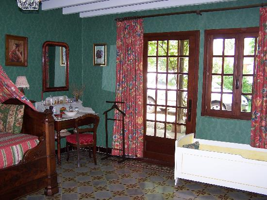 Chambres d'hotes en Bourgogne du DEVU : une chambre de l'Huteau