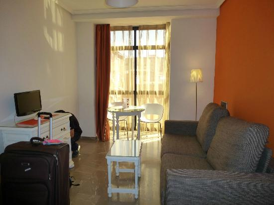 Aparthotel G3 Galeon : coin salon