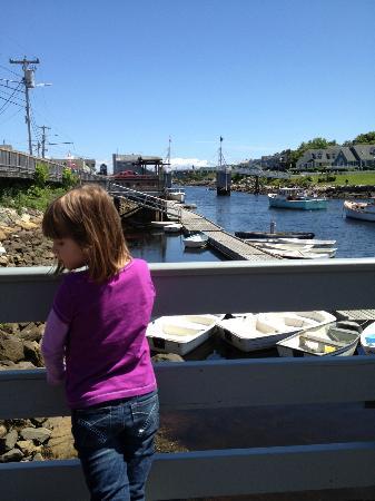 Finestkind Scenic Cruises: Perkins Cove and the human powered drawbridge
