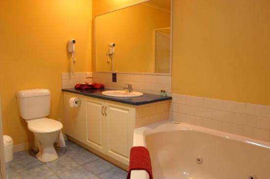 Ashmont Motor Inn & Apartments: Guest bathroom