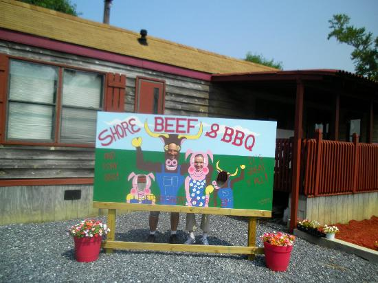 Shore Beef and BBQ : Take your memorable picture here at Shore Beef & BBQ