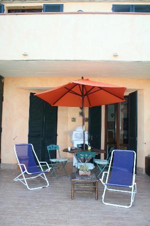 Il B&B di Montenero: La veranda