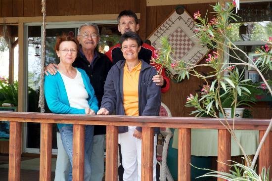 Residence Bellevue Guesthouse: Gastgeber und Wir