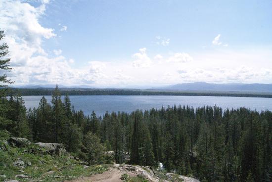 Inspiration Point: Jenny Lake