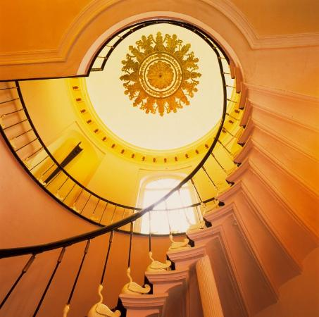 Bruges Hotel Navarra Interior Staircase