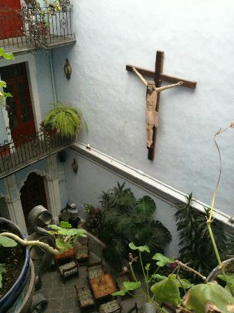 Hotel Casa de la Palma: Buen servicio y acogedor lugar para desayunar.