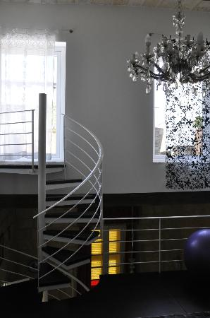 Indulgence Divine: Staircase to terrace